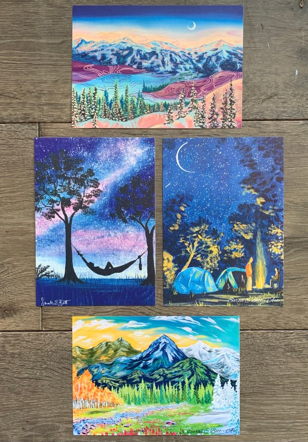 Eco-Art Postcards